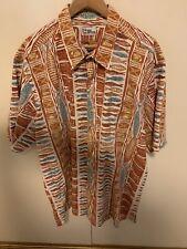 Vintage Reyn Spooner Reverse Print Hawaiin Shirt 3Xl FishTraditional Hawaii