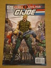 G.I. JOE VOL 2 #6 RI COVER 2011 IDW ROBERT ATKINS