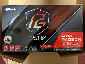 ASRock Radeon RX 6900 XT Phantom Gaming D 16GB GDDR6 Graphics Card
