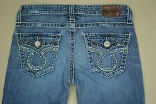 Big Star LIv Boot Cut Jeans Women's Size 28 Distressed Medium Wash Denim
