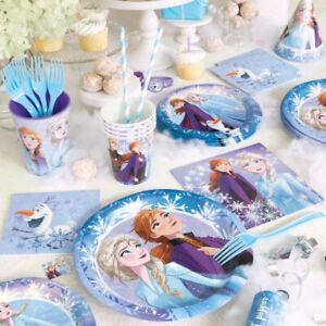 Disney Frozen 2 Complete Party Pack 81 Pieces