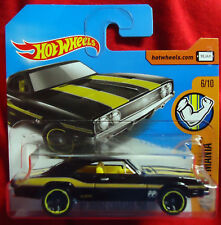 '69 Dodge Charger 500 - 1969 - Hot Wheels - Muscle Mania Card
