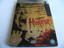 Greatest Ever Classic Horror Collection (DVD, 2008, 5-Disc Set, Box Set)Freepost