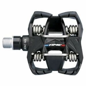 Time ATAC MX 6 PD MTB Pedals Pedals FE - Black Mountain Bike Pedals