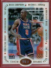 Michael Jordan 1996 Upper Deck USA American Made Basketball Card #M4