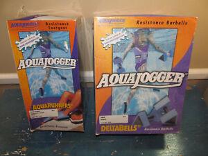 Aquajogger Aqua Runners Resistance Footgear and DeltaBells Barbells NEW