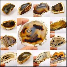 100% Natural Montana Agate Slice Mineral Specimen NG14251-14259,14858-14890