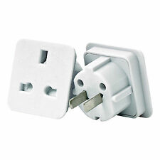 SMJ Electrical TADWWC Worldwide Travel Adaptor Pack of 2 in White