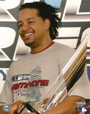 MANNY RAMIREZ 8x10 CANDID PHOTO Boston Red Sox 2004 WORLD SERIES CHAMPS (WS MVP)