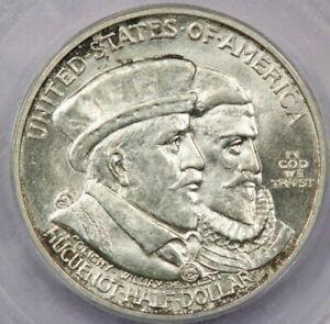 1924 Huguenot Classic Commemorative half dollar ICG MS65