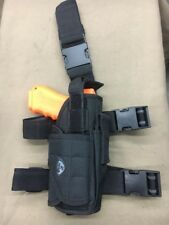 Tactical Pistol Drop Leg Holster Right Hand Black Only One!!