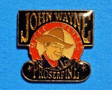 JOHN WAYNE - MOST WANTED - PROSERPINE - VINTAGE LAPEL PIN - HAT PIN - PINBACK