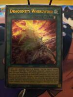 Yugioh! Dragunity Whirlwind - GFTP-EN040 - Ultra Rare - 1st Edition Near Mint