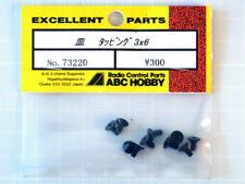 ABC Hobby 73220 Tornillos Torx 3x6mm (10) Cabeza Plana modelado