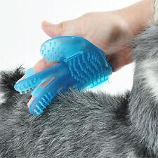 Dog Cat Rabbit Pet Grooming Rubber Palm Massage Brush Bath Shampoo Brush