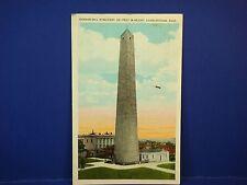 Bunker  Hill Charlestown Mass 1932 Vintage Color Postcard PC7