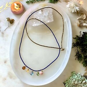 Multigem 14K Gold Filled Handmade Sundance Garden Necklace