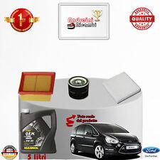 Kit Inspección Filtros + Aceite Ford S-MAX 2.0 16V 107KW 145CV De 2009- >