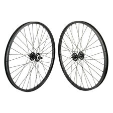 "26""x1.75"" SE Racing Sealed Bearing Wheelset BMX BLACK"