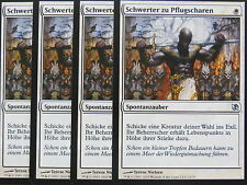 XXX 4x SCHWERTER ZU PFLUGSCHAREN swords to plowshares deutsch EvT (white) NM XXX