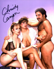 Busty Adult Film Legend CHRISTY CANYON friends signed photo!