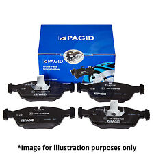 PAGID FRONT AXLE BRAKE PAD SET BRAKE PADS T1149 WITH INTEGRATED WEAR SENSOR