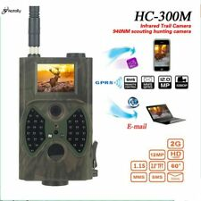 caméra de Chasse Skatolly HC300M GSM 12MP 1080 P Photo pièges Vision nocturne