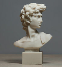 King DAVID Bust Head Statue Sculpture Handmade Made in Greece 5.12΄΄