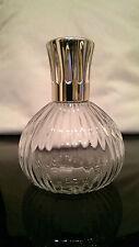 Lampe Berger Flacon Plissee Transparent Glas Crystal Verre France Paris