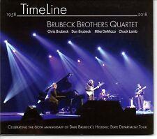 Brubeck Brothers Quartet - TimeLine  CD