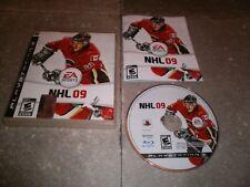JEU PS3 PAL Version Française: NHL 09 - Complet TBE