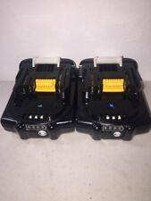 MAKITA BL1820-2 18V Lithium-Ion 18 Volt 2.0Ah Battery 2-Pack BL1820 with gauge