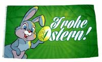 Flagge / Fahne Frohe Ostern Osterhase Hissflagge 90 x 150 cm