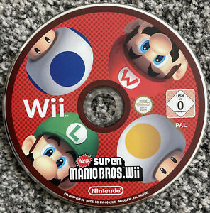 Nintendo Wii Game - New Super Mario Bros. Wii - Disc Only - PAL - Free UK PP