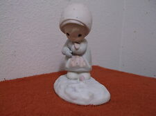 "VINTAGE ""PRECIOUS MOMENTS"" PORCELAIN  ""FEBRUARY CALENDER GIRL""..RELEASED.1987"