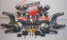 Dana 30/44 Axle Spindle Stub, U Joints, Ball Joints Jeep Tj Yj Xj 1986-2006 Pair