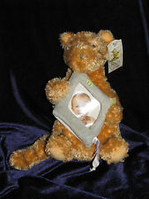 CLASSIC WINNIE THE POOH STUFFED PLUSH TIGGER BABY PICTURE PHOTO FRAME HOLDER NEW