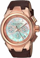 Technomarine TM-715037 Sea Women's 42mm Chronograph Rose Gold-Tone Watch