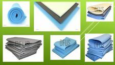 "Large Upholstery foam Sheets 94"" x 80"" High medium low density foam sheet"