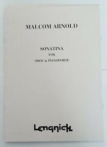 Malcom Arnold: Sonatina for Oboe & Pianoforte