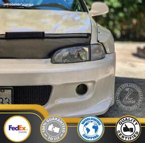 Car Bonnet Hood Bra Fits Honda Civic 92 93 94 95 1992 1993 1994 1995 EG EJ
