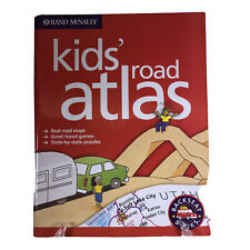 Rand McNally Kids' Road Atlas 2003 Backset Books Map Puzzles Games Activities