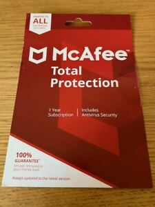 McAfee Total Protection 2021 - Unlimited Devices 1 Year Subscription