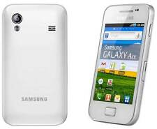 NEW SAMSUNG GALAXY ACE WHITE 3G WHITE MOBILE PHONE UNLOCKED UK **OFFER**