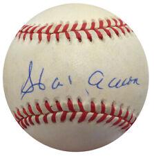 Hank Aaron Autographed Signed NL Baseball Atlanta Braves UDA COA UDL17742