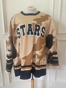 Reebok Edge Texas Stars Pro Stock Game Jersey Military Night 7331