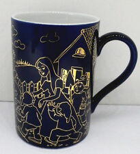 Lebkuchen Schmidt Märchen Sammelbecher Porzellan Kaffee Becher Nr 6 Kobalt Gold