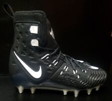 Nike Force Savage Elite TD Football Cleats Black White 857063 011 Size 9