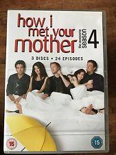 Alyson Hannigan Neil Patrick Harris HOW I MET YOUR MOTHER Season 4 Series UK DVD