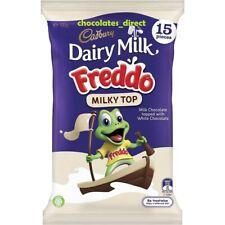15 Bars Cadbury Freddo Milky Top Dream White Milk Chocolate Australian Import UK